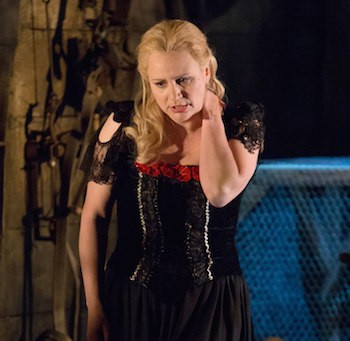 Anja Kampe, Sieglinde und Isolde ab 2015 bei den Bayreuther Festspielen.