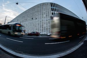Das neue Musiktheater in Linz.