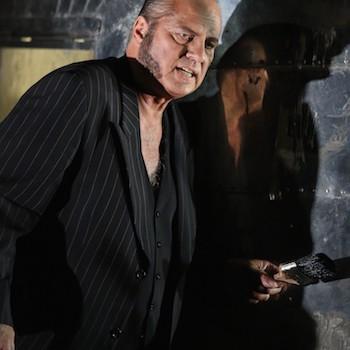 Albert Dohmen als Alberich in Siegfried. © Enrico Nawrath/Bayreuther Festspiele