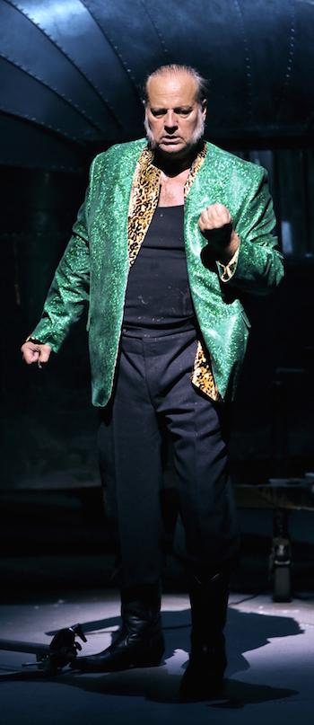 Albert Dohmen als Rheingold-Alberich. © Enrico Nawrath/Bayreuther Festspiele