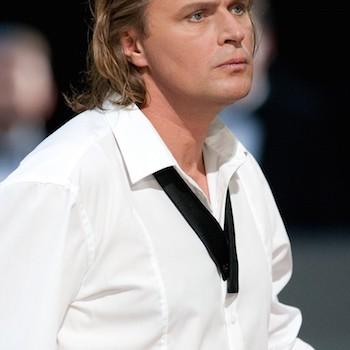 Klaus Florian Vogt als Lohengrin. © Enrico Nawrath, Bayreuther Festspiele