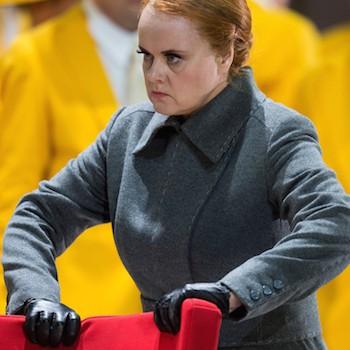 Petra Lang als Ortrud in Lohengrin bei den Bayreuther Festspielen 2015. © Enrico Nawrath/Bayreuther Festspiele