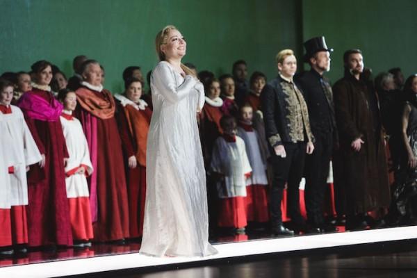 Applaus nach Otello bei den Osterfestspielen Salzburg. (c) Wolfgang Lienbacher.