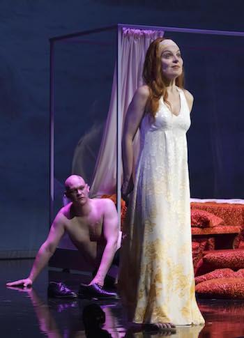 Stephan Bootz und Annette Seiltgen. ©Landestheater Niederbayern