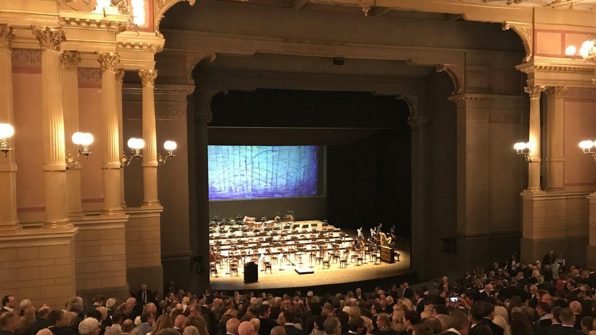 Festakt Wieland Wagner, 24. Juli 2017, Bayreuther Festspiele