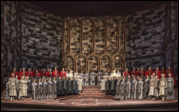 Lohengrin, 2. Akt, Prag, Nationaltheater, 8. Juni 2017, Premiere