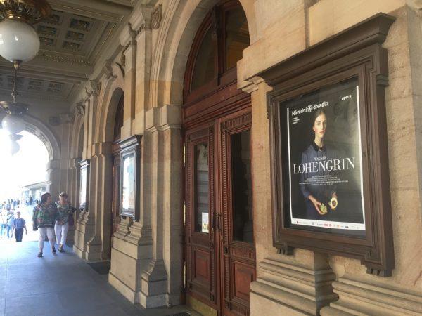 Außenansicht Nationaltheater Prag