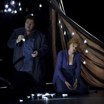 Tristan und Isolde, zweiter Akt, Bayreuther Festspiele 2017