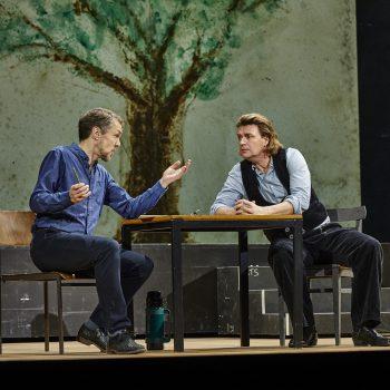 Meistersinger von Nürnberg, Semperoper Dresden 2020, Georg Zeppenfeld, Klaus Florian Vogt.
