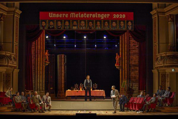 Wer wird Meistersinger 2020? Szene Semperoper Dresden