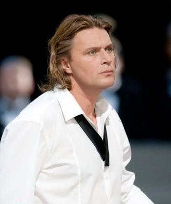 Klaus Florian Vogt in Lohengrin (Foto: Enrico Nawrath, Bayreuther Festspiele)