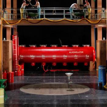 Tannhäuser mit Publikum: Sebastian Baumgarten holt Zuschauer in der Bayreuther Inszenierung auf die Bühne. Foto: Enrico Nawrath, Bayreuther Festspiele