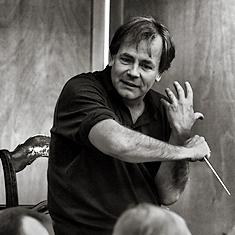 Axel Kober im Interview. (Foto: Enrico Nawrath, Bayreuther Festspiele)