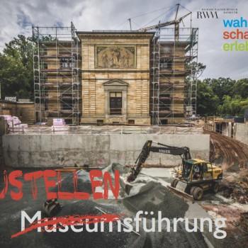 Baustelle schauen: Täglich gibt es Führungen am Richard Wagner Museum.