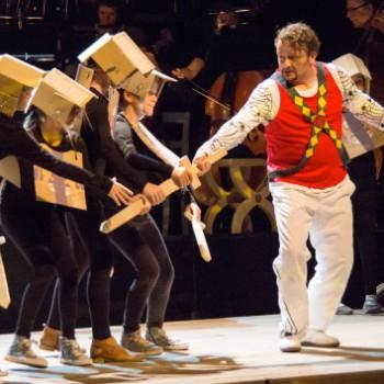 Lohengrin junior: Norbert Ernst in der Hauptrolle. (Foto: Jörg Schulz, Bayreuther Festspiele)