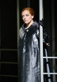 "Evelyn Herlitzius (hier Ortrud in ""Lohengrin"" in Bayreuth) ist neue Isolde. © Bayreuther Festspiele"