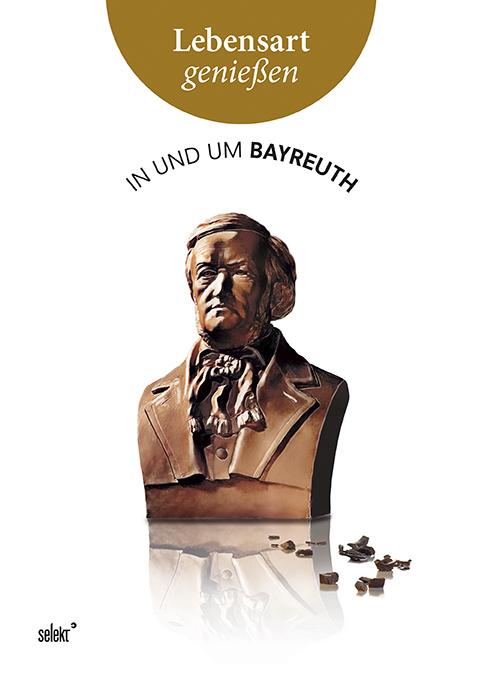 """Das Buchcover """"In und um Bayreuth"""""""