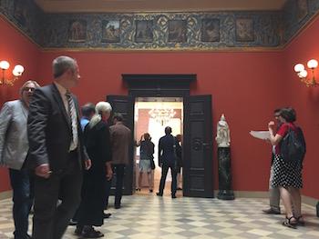 Eingangshalle in Villa Wahnfried. © R. Ehm-Klier/festspieleblog.de