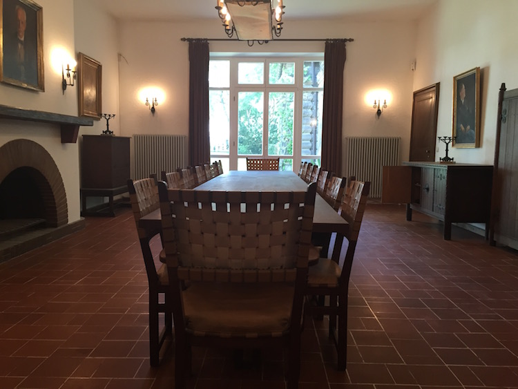 Das Speisezimmer im Siegfried-Wagner-Haus. © R. Ehm-Klier/festspieleblog.de