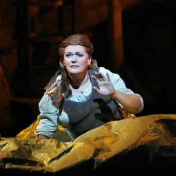 "Catherine Foster, Brünnhilde in ""Siegfried"". © Enrico Nawrath/Bayreuther Festspiele"