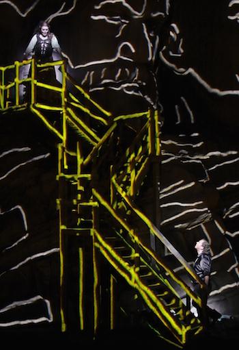 Catherine Foster und Stefan Vinke in Siegfried. © Enrico Nawrath/Bayreuther Festspiele