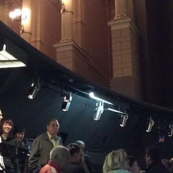 Orchestergraben des Bayreuther Festspielhauses beim Tag der offenen Tür 2014. © R. Ehm-Klier/festspieleblog.de