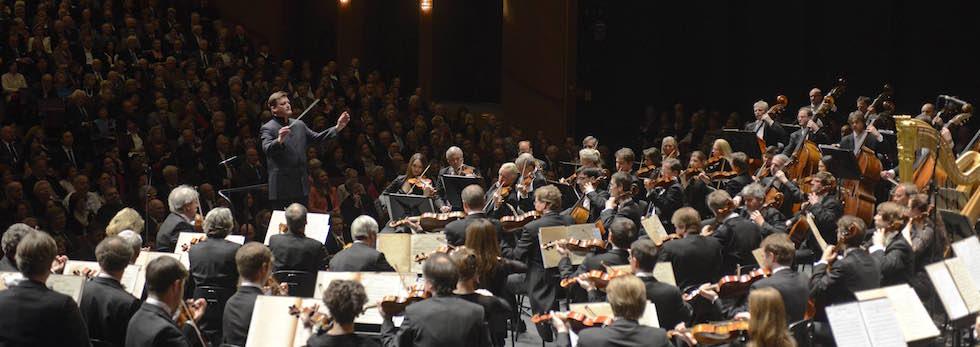 Die Staatskapelle Dresden unter Christian Thielemann. © Matthias Creutziger