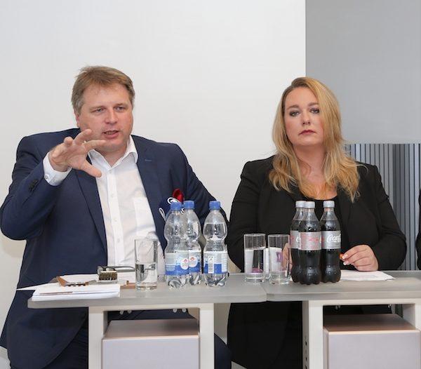 Künstlerische und kaufmännische Gesamtleitung der Bayreuther Festspiele: Katharina Wagner und Holger von Berg. © J. Schulze, Bayreuther Festspiele 2016