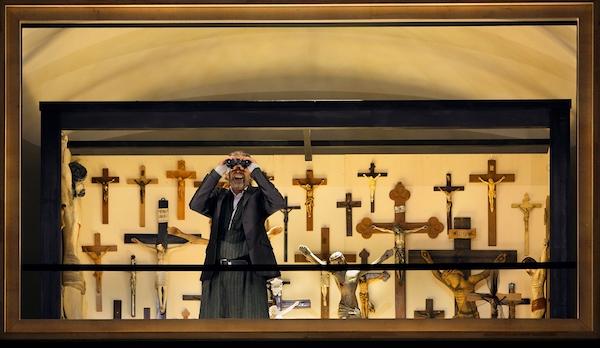Gerd Grochowski als Klingsor in Parsifal, 2016 bei den Bayreuther Festspielen. © Enrico Nawrath/Bayreuther Festspiele