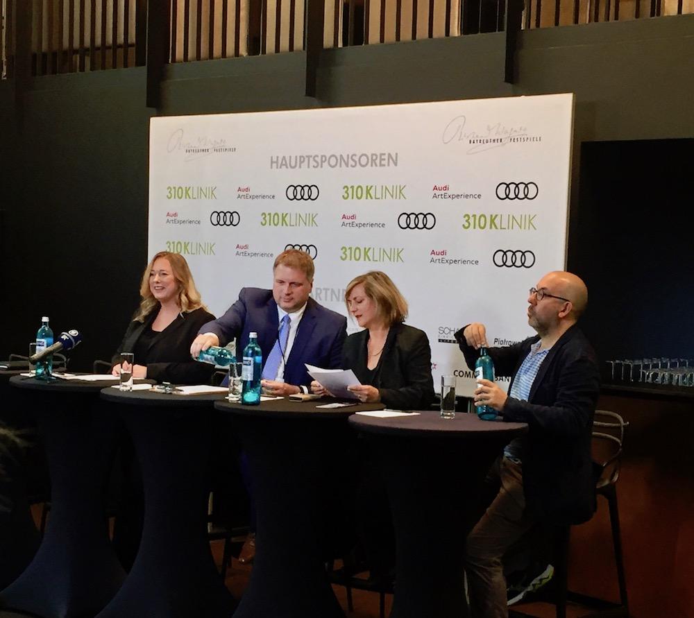 Pressekonferenz vor Beginn der Bayreuther Festspiele 2017