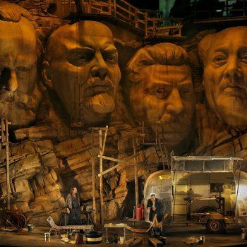 Das Bild gehört zur Bilanz zur Halbzeit bei den Bayreuther Festspielen 2017