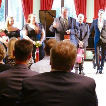 Meisterkurs Gesang, Abschlusskonzert in der Villa Wahnfried.