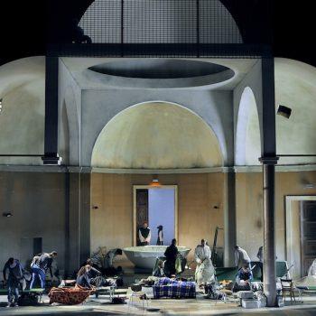 Eröffnungsszene Parsifal 2017, Bayreuther Festspiele