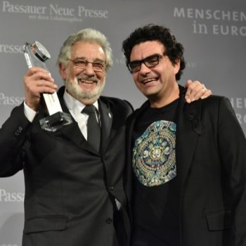 Placido Domingo und Rolando Villazon in Passau.