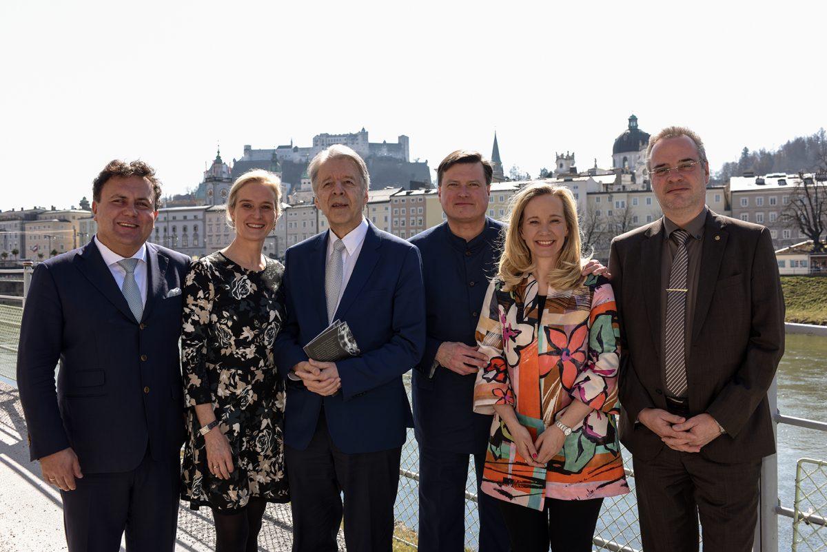 Osterfestspiele Salzburg: 2019 wieder Wagner auf dem Spielplan. Hier bei der Programmvorstellung am 25. März 2018.