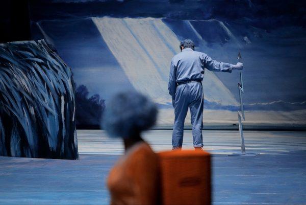 Lohengrin Schluss Bayreuther Festspiele