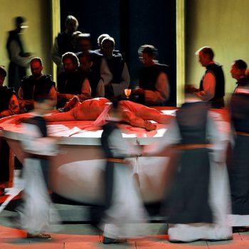 Szene aus Parsifal II bei den Bayreuther Festspielen 2018,
