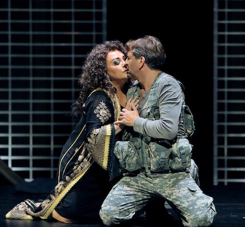 Szene aus dem zweiten Akt Parsifal 2018, Bayreuther Festspiele