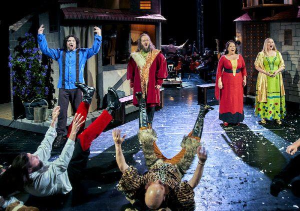 Bayreuther Festspiele Prügelszene Meistersinger von Nürnberg, Kinderoper