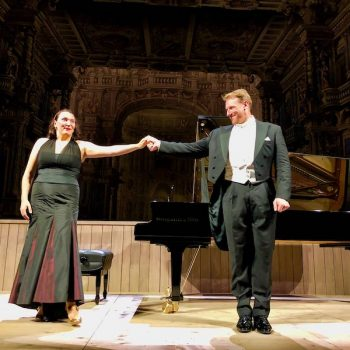 Liederabend am 12. August 2019: Günther Groissböck und Alexandra Goloubitskaia, Klavier, Markgräfliches Opernhaus Bayreuth