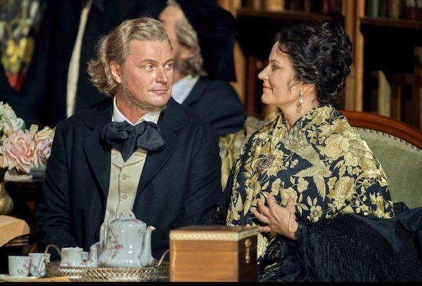 Klaus Florian Vogt als Stolzing, Camilla Nylund als Eva, Meistersinger von Nürnberg 2019