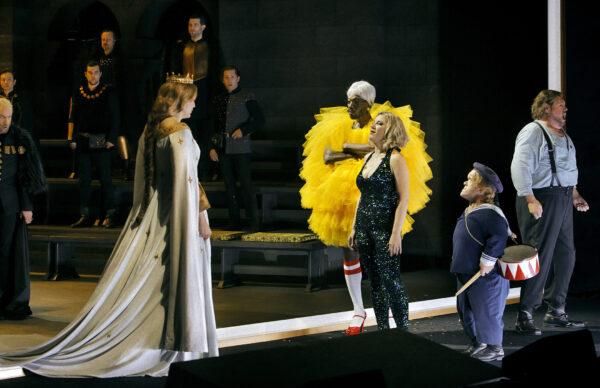 Zwei Welten stehen sich gegenüber: Tannhäuser 2021, Bayreuther Festspiele