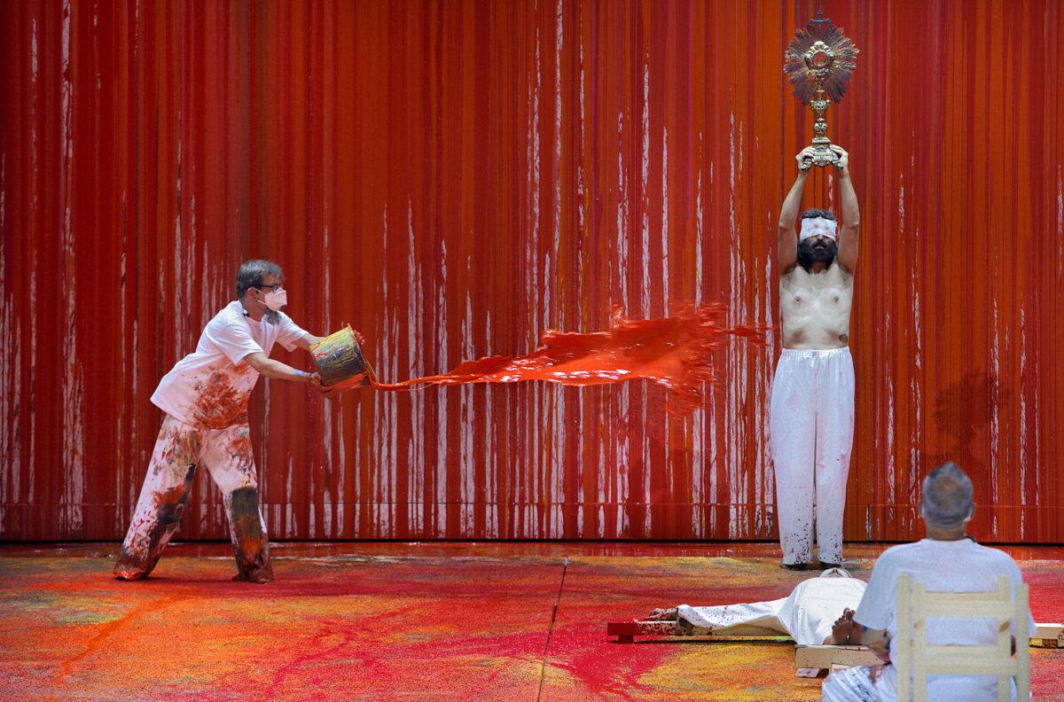 Walküre 2021, Bayreuther Festspiele 2021, Hermann Nitsch