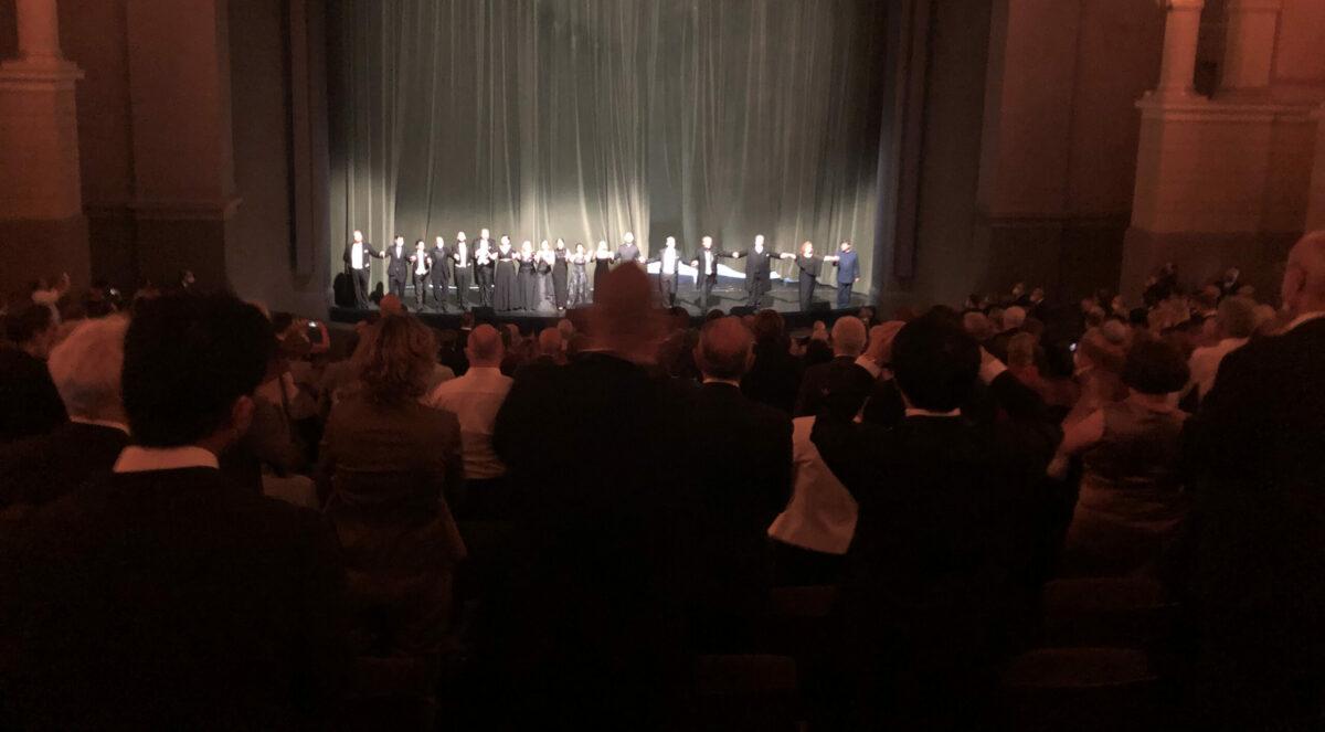 Standing Ovations im Festspielhaus Bayreuth, Bayreuther Festspiele, 10. August 2021